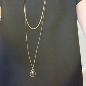Anthropologie Drop Necklace
